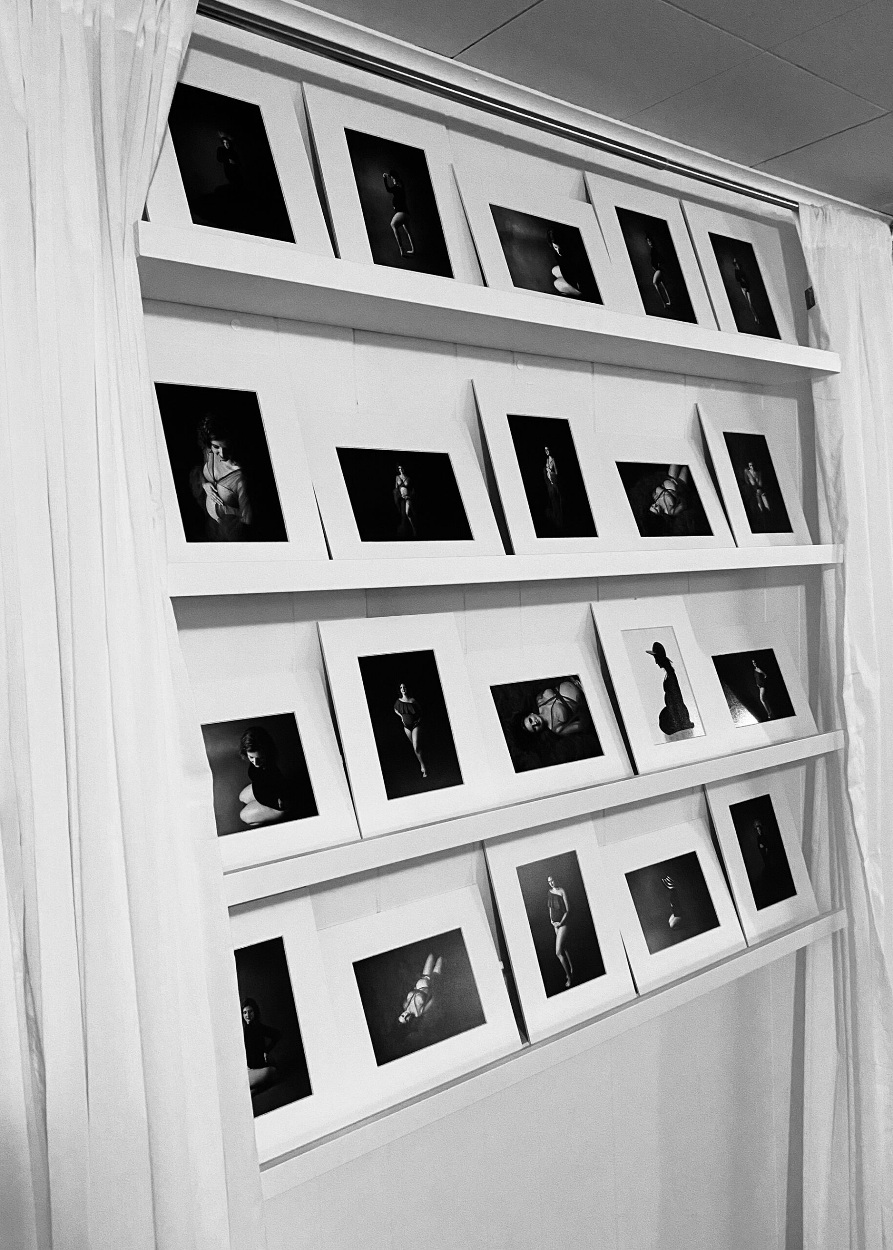 reveal wall for professional newborn photography in minneapolis mn